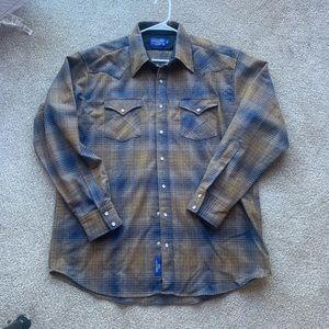 Pendleton canyon shirt xl tall